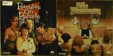 2 SEALED Brit Com LASERDISCS The Missionary (Palin)  Privates On Parade (Cleese)