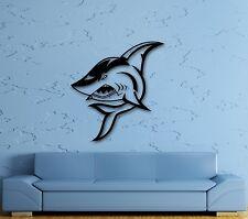 Wall Stickers Vinyl Decal Shark Marine Animal Ocean Room Decor (ig634)