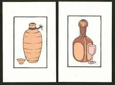 TAKAO RYOICHI - 1973 Japanese Woodblock Diptych Print