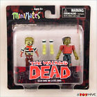 The Walking Dead Minimates figures Sailor Zombie and Leg Bite Zombie
