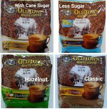 Old Town White Coffee 4 In 1 Bundle ( Classic,Less Sugar, Sugar Cane, Hazelnut)