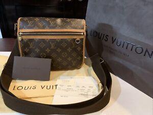 Louis Vuitton LV Messenger Bag Bosphore PM Monogram Cross Body Shoulder Bag