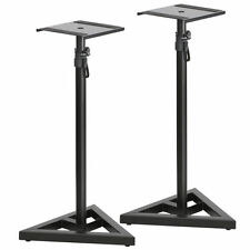 Studio Monitor Speaker Stand Adjustable Height Concert Home Band DJ 1 Pair New