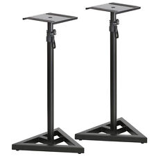 Studio Monitor Speaker Stand Adjustable Height Concert Home Band DJ 1 Pair