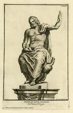 Antique Print-SCULPTURE-JUPITER-PALAZZO VEROSPI-ROME-Aquila-1704