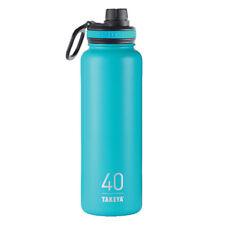 Takeya Thermoflask  Ocean  Stainless Steel  Water Bottle  BPA Free 40 oz.
