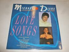 MICHAEL JACKSON & DIANA ROSS - Love Songs - 1987 UK 16-track vinyl LP