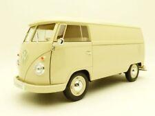 VW COMBI T1 tolé utilitaire beige 1/18 bus panel van