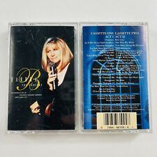 Barbara Streisand The Concert Act 1 and Act 2 (Cassette, 1994, Sony Music)