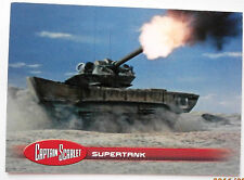 CAPTAIN SCARLET - Trading Card #14, Supertank - Unstoppable 2015