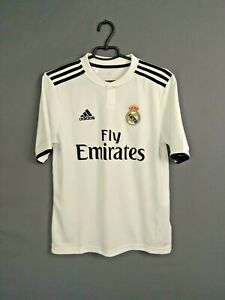 Real Madrid Jersey 2018 2019 Home Kids Young 15-16 y Shirt Adidas CG0554 ig93