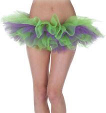 Morris Costumes Women's Tutu Green, Purple One Size. UR29474