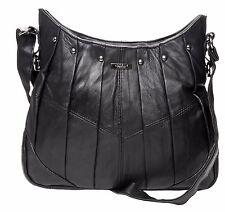 On Trend Ladies Leather Handbag Bag Latest Style - 3731 black