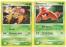 Pokemon Cards: Parasect 58/123 & Paras 92/123 Mysterious Treasures Evolution!