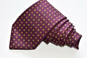 """Cantini Firenze Purple   Men's Neck Tie W: 3 3/4"""" by L: 60 """" made in ITALY"""