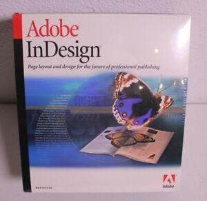 Adobe InDesign 1999 - Full Version for Mac Still Factory Seal