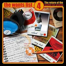 THE WANTS LIST VOL.4  2 VINYL LP NEU
