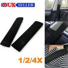 1/2/4pcs Car Seat Belt Cover Pads Car Safety Cushion Covers Shoulder Protect UK