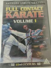 FULL CONTACT KARATE Volume 1 DVD Extreme Sports Combat New & Sealed Self Defence