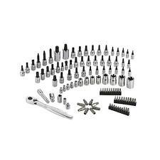 New Craftsman 105 PC Bit Ratchet Wrench Socket Tool Set Alloy SAE, Metric & Torx