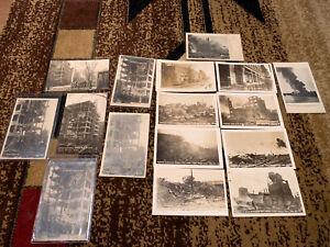Antique postcard lot rppc cedar Rapids, Iowa  Eastern iowa