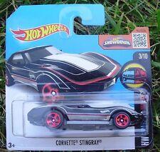 Corvette Stingray. Hot Wheels 2016 SHORT CARD. 58/250. DHX34. New in Package!