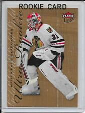 09-10 Fleer Ultra Antti Niemi Gold Medallion Rookie # 203