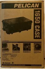 Pelican 1650 Protector Case w Foam & Lid Organizer New in Box USA Seller 0123201