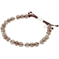 Gorjana Power Gemstone Smoky Quartz Beaded Bracelet For Grounding 17120535SPKG