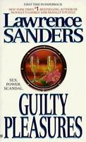 Guilty Pleasures by Lawrence Sanders (1998, Mass Market) Paperback Free Shipping