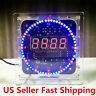 LED Rotating Electronic Temperature Display Digital Clock DIY Learning Kit Box