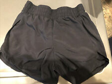Athletic Works Girls Active Running Polyester Shorts Black Size L 10/12 Plus