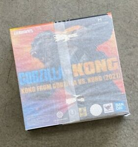 BAS60478: BANDAI S.H.Monsterarts SHM Godzilla vs Kong 2021 King Kong Figure