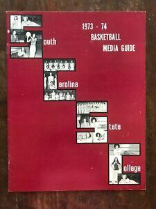 1973-74 South Carolina men's basketball media guide