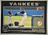 2004 Topps BLACK Parallel /53 - MARIANO RIVERA #67 - SP SSP Yankees HOF
