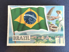 A&BC Flags of the World (95 x 67mm - Larger) - BRAZIL #42