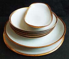 assiettes et plats en porcelaine de Limoges BERNARDAUD & Co