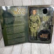 "SIDESHOW JOHN WAYNE ARMY SPECIAL FORCES EXCLUSIVE TIGERSTRIPE 12"" FIGURE 1/6 NIB"