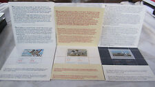 LOT OF 3 CANADA Wildlife Habitat Conservation 1987 1988 1989 Stamps