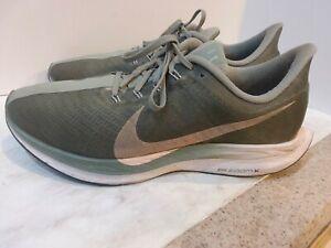 Nike Pegasus 35 Turbo Zoom X Running Shoes Size 10.5 Gray EUC