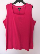 JONES NEW YORK  Square Neck Sleeveless Tank Top Size 2X $39.50