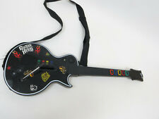 Xbox 360 Guitar Hero Les Paul Gibson Guitar Red Octane w/Stickers