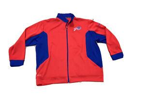 Alex Carrington team Worn issued Buffalo Bills track coat jacket Dri Fit XXXL