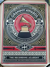 Shepard Fairey - Grammy Awards Print - 2010