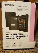 Incipio lektra fully zippered folio w/removable snap-on case KINDLE FIRE HD 7