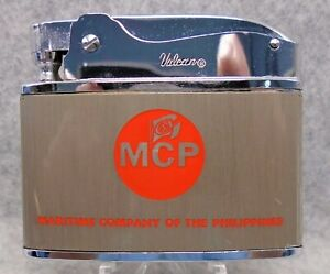 Vintage MCP flat advertising lighter MIB 1970 NY Mets Home Schedule! XXRARE LQQK