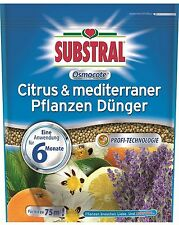 Substral Osmocote Citrus & mediterraner Pflanzen Dünger 1,5kg Langzeitdünger
