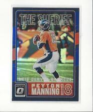 2016 Donruss Optic Peyton Manning Tribute Blue #16 Peyton Manning Broncos /149
