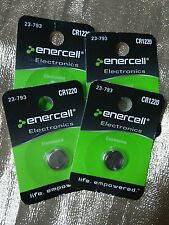 Enercell CR1220 Button Battery 4pk