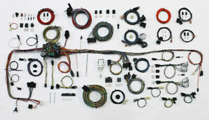 1983-87 Chevrolet/GMC Truck American Autowire Wiring Harness (w/aftermarket AC)